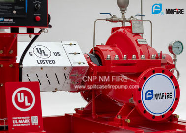 China 500GPM & 120PSI Diesel Engine Drive Fire Pump With Horizontal  Split case Fire Pump  UL/FM listed supplier