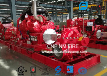 China UL/FM Listed Horizontal Diesel Engine Driven Fire Pump 2980RPM / 190PSI supplier