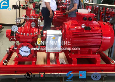 China UL Listed Fire Fighting Pump Set With Electric Motor Driven 2000GPM / 155PSI supplier