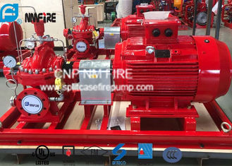 China Electric Motor Driven Split Case Fire Pump 500GPM@180PSI For Water Use supplier