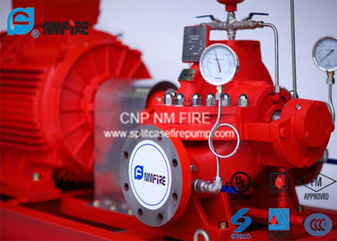 China Ductile Cast Iron Electric Motor Driven Fire Pump For Highway Tunnels / Subway Stations supplier