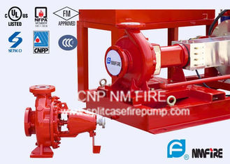 NFPA20 Standard End Suction Fire Pump 250GPM@100PSI Ductile