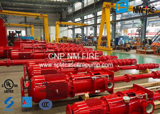 China Centrifugal Motor Drive Vertical Turbine Fire Pump Ductile Cast Iron Casing supplier