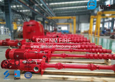 China Centrifugal Electric Motor Driven Fire Pump Sets With Vertial Turbine Pumps For Water Use supplier