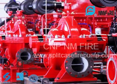 China NFPA Standard Double Suction Split Case Pump Centrifugal 2500GPM@135PSI supplier