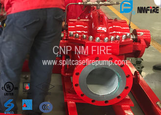 China Firefighting Split Case Centrifugal Pump 205PSI For Office Building / Schools supplier
