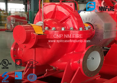 China High Efficiency Centrifugal Fire Pump 4000Usgpm Ductile Cast Iron Materials supplier
