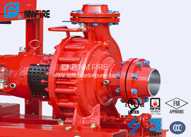China 311 Feet 95m UL FM Approved Fire Pumps For Supermarkets Ease Installation supplier