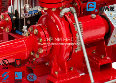 China High Efficiency Centrifugal Fire Pump 200 Usgpm@105PSI Ductile Cast Iron Materials supplier