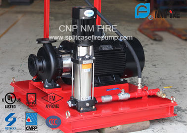 China 3 M³/H Fire Fighting Jockey Pump Stainless Steel With 100-220PSI Head supplier