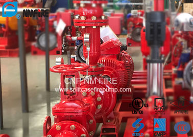 China Residential / Industrial End Suction Fire Pump Single Impeller UL / FM Listed supplier