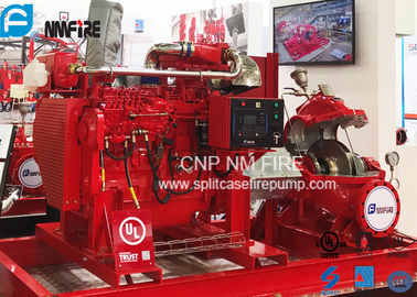 China Industrial High Pressures Split Case Fire Pump Centrifugal 1000GPM / 175PSI supplier