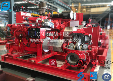 China Ductile Cast Iron Centrifugal Fire Pump 170PSI 120m For Office Building supplier
