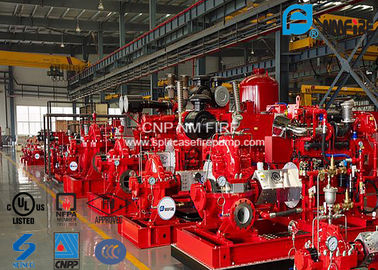 China Horizontal Single Stage Centrifugal Pump NFPA20 Standard 195.9KW Max Shaft Power supplier