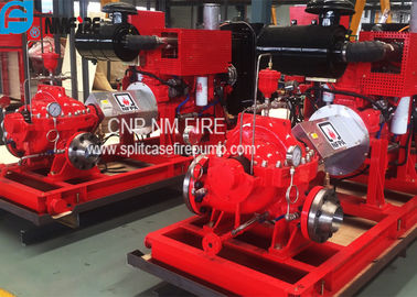 China Diesel Engine Driven Centrifugal Fire Pump 2000GPM@150PSI High Performance supplier