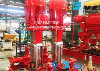 China Multistage Booster Fire Jockey Pump 75GPM For Firefighting , NFPA20 GB6245 Listed supplier
