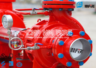 China NFPA20 UL Listed 200gpm Electric Fire Water Pump Set , Single Stage Fire Fighter Pumps 105-130PSI supplier