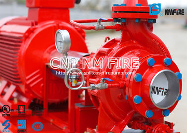 China Fire Fighting Electric Motor Driven Fire Pump Group 45.4m³ / H UL Certificated supplier