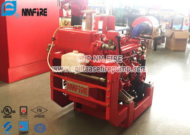 China 38KW UL Diesel Driven Fire Water Pumps / Fire Engine Water Pump With High Speed supplier