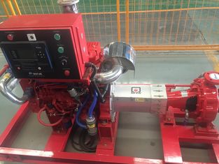 China High Speed High Pressure Fire Fighting Pumps With Eaton Controller 3550 supplier