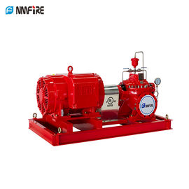 China High Speed End Suction Fire Pump Set With Eaton Controller Jockey Pump -E01 supplier
