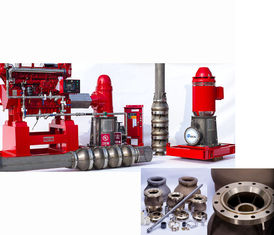 China Electric Motor Driven Vertical Turbine Fire Pump With Eaton Controller supplier