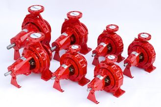 China 450gpm@102PSI UL FM Approved Fire Pumps Set With Tornatech Controller supplier