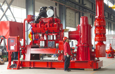 China Vertical Turbine Ul Fm Approved Fire Pumps Fire Fighting Use With 1250gpm Flow supplier