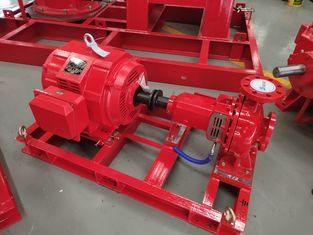 China High Power Electric Fire Fighting Pump,  200 GPM 140PSI UL FM Fire Pump supplier