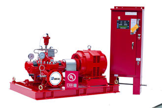 China Vertical Ul Fm Approved Fire Pumps / Hospital Electric Motor Driven Water Pump supplier
