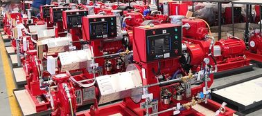 China Diesel Engine End Suction Fire Pump Set Fire Fighting 5 00GPM138PSI UL FM NFPA 20 supplier