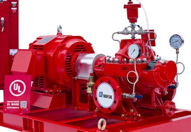 China Motor Driver Split Case Fire Pump Set With SS 304 Impeller 50hz-400v supplier