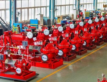 China Large Capacity Ul Listed Fire Pumps / Bronze Fire Fighting Diesel Pump supplier