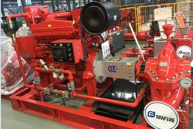 China High Head Split Case Fire Pump For National Grain Storages 102 Meter supplier