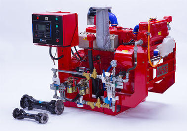 UL Listed FM Approved Diesel Engine Driven Fire Pump With Jockey Pump Set