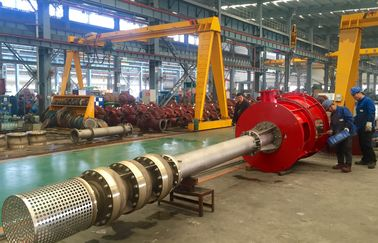 Diesel Driven Vertical Turbine Fire Pump , Diesel Fire Water Pump Ductile Cast Iron