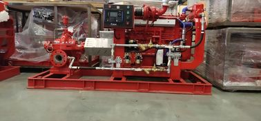 Firefighting Use With UL/FM Approval Diesel Engine Drive Fire Pump With Split case Fire Pump On 500GPM @ 115PSI