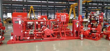 China High Efficency Diesel Engine Driven Fire Pump With Jockey Pump Set 750 GPM supplier