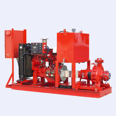 China 250 US GPM 136PSI Diesel Engine Driven Fire Pump With Eaton Controller supplier