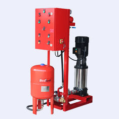 China NFPA20 Fire Pump Set With Vertical Multistage Electric Motor Driven , Jockey Pump Set supplier
