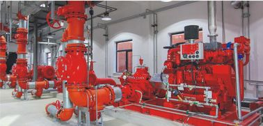 China Split Case Pump  Diesel Driven Fire Pump  Firefighting  Water or Sea water supplier