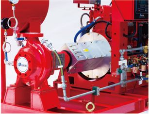 China UL FM End Suction Pump  Fire Pump centrifugal pump 50hz/ 60HZ motor Driver diesel engine fire pump fire fighting system supplier