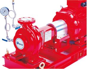 China Impeller Centrifugal Pump Set With Jockey Pump UL Listed FM Approved Fire Pump Eaton controller supplier