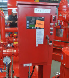 China High Precision Diesel Fire Pump Control Panel For Fire Fighting UL / FM Approved supplier