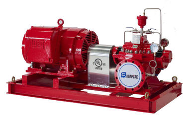 China 1000GPM@170PSI Electric Motor Driven Fire Pump Centrifugal For Office Building supplier