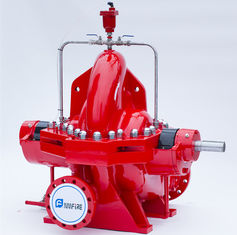 China UL Listed Fire Fighting Water Pump 1250 GPM Fire Pump For Pipelines Bureaus supplier