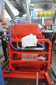 China UL Listed Fire Diesel Engine 190 KW Energy Efficient With Diesel Fuel supplier