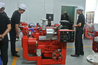 China High Speed Fire Water Pump Diesel Engine 132 Kw Power UL FM Approved supplier