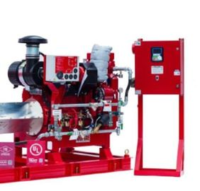 China High Precision Fire Diesel Engine For Fire Fighting Pump 60 KW Red Color supplier