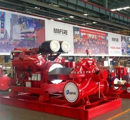 China NFPA 20 Standard Cummins Diesel Fire Pump Engine 24KW - 1227KW CCCS Certification supplier